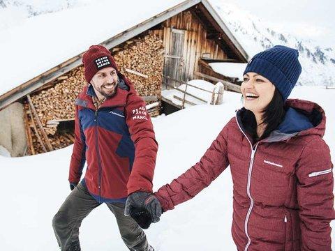 winterwandern Zillertal  huetten winterwonderland