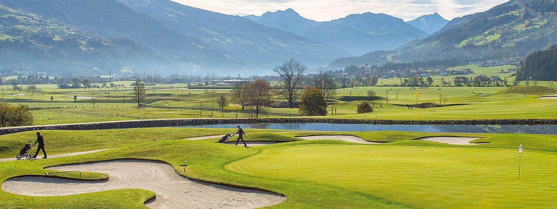 Zillertal golfanlage golfplatz