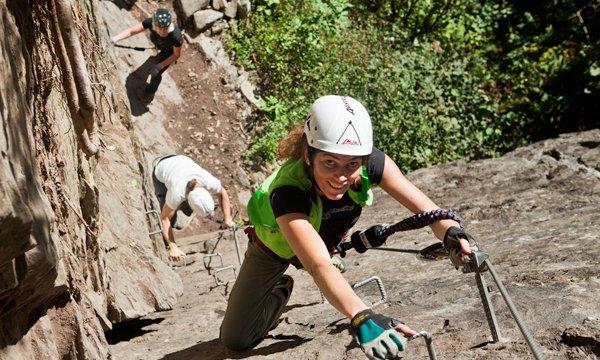 Klettersteige im Zillertal