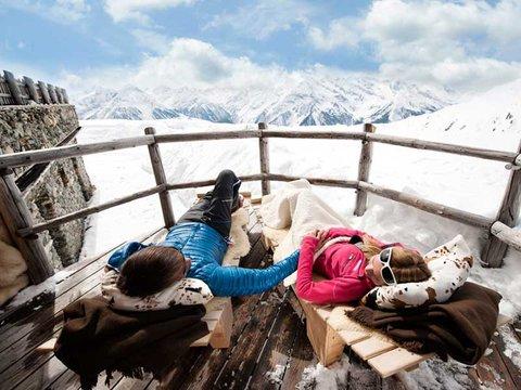 pause Skigebiet zillertal