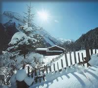 tvb tux finkenberg Winterlandschaft idylle