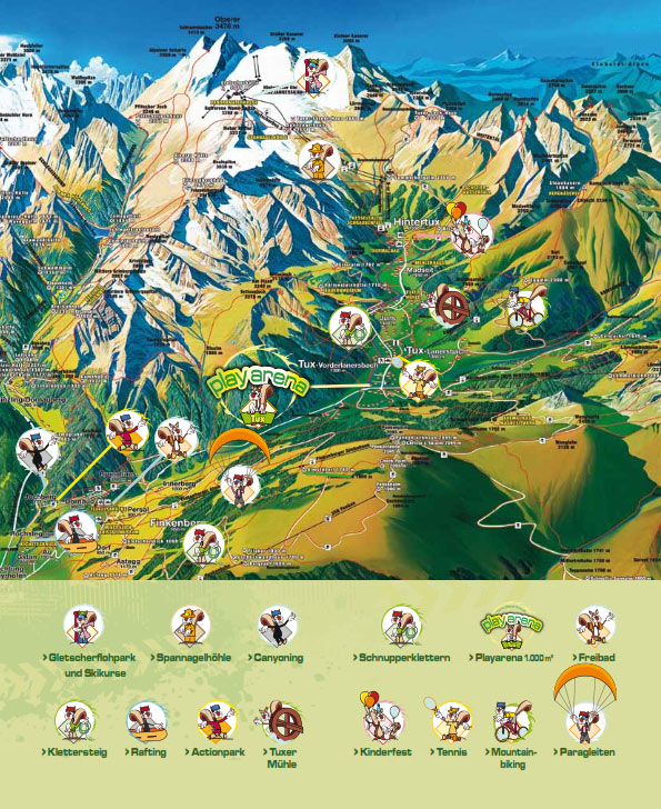 erlebniswanderweg tuxertal bergland