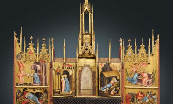 Altar vom Schloss Tirol
