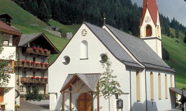 Die Pfarrkirche Tux in Lanersbach