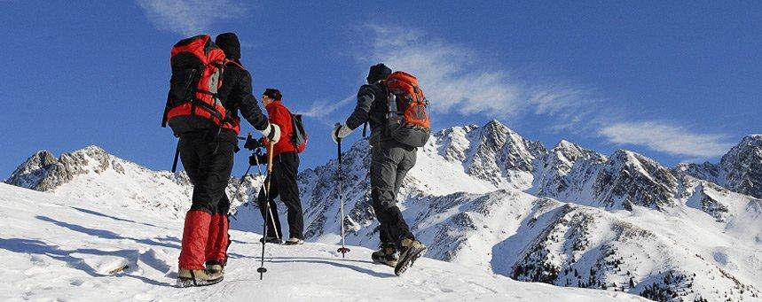 .Das Ziel ist der Berg.