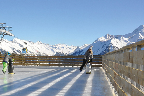 Eislaufen, Schlittschuhlaufen & Eisstockschiessen