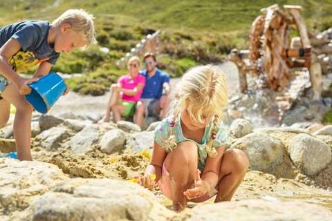 Familienurlaub im Sommer