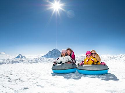 Gletscherflohpark auf 3.250 m