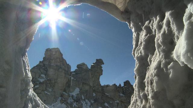 Natur Eis Palast im Hintertuxer Gletscher